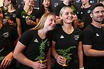 Hope Ralph and Katie Doar. Hockey Olympic Teams Announcement, National Hockey Centre, Auckland, New Zealand. Thursday 10 June 2021 Photo: Simon Watts/www.bwmedia.co.nz