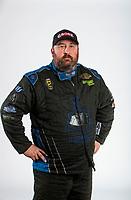 Feb 6, 2020; Pomona, CA, USA; NHRA pro stock driver Joey Grose poses for a portrait during NHRA Media Day at the Pomona Fairplex. Mandatory Credit: Mark J. Rebilas-USA TODAY Sports