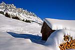 Oesterreich, Salzburger Land, Winterlandschaft am Hochkoenig bei Dienten   Austria, Salzburger Land, Winter Scenery at Hochkoenig Mountains near Dienten