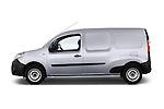 Driver side profile view of a 2013 - 2014 Renault Kangoo Express Maxi 5 Door Mini Mpv.