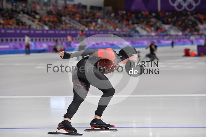 OLYMPIC GAMES: PYEONGCHANG: 15-02-2018, Gangneung Oval, Long Track, 10.000m Men, Ted-Jan Bloemen (CAN), ©photo Martin de Jong