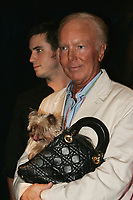 August 2005 - Michel Girouard and his dog
