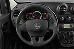 Car pictures of steering wheel view of a 2017 Mercedes Benz Citan Perfect-Tool 5 Door Cargo Van Steering Wheel