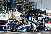 2017 Verizon IndyCar Series - Firestone Grand Prix of St. Petersburg<br /> St. Petersburg, FL USA<br /> Sunday 12 March 2017<br /> Max Chilton pit stop<br /> World Copyright:Sam Cobb/LAT Images<br /> ref: Digital Image cobb-stpete-170312-4398
