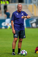 Alan Curtis, First-team coach of Swansea Cityduring the Pre Season friendly match between Swansea City and Rovers played at the Memorial Stadium, Bristol on July 23rd 2016