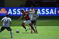 Brasília (DF), 11/04/2021 – Partida entre Flamengo e Palmeiras pela Supercopa no estádio Mané Garrincha em Brasília, neste domingo (11).