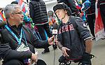 Yves Bourque, Sochi 2014.<br /> Highlights from Canada's Athlete Welcome Ceremony // Faits saillants de la cérémonie d'accueil des athlètes canadiens. 05/03/2014.