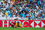 Australia vs Canada on Cup Quarter Final during the Cathay Pacific / HSBC Hong Kong Sevens at the Hong Kong Stadium on 30 March 2014 in Hong Kong, China. Photo by Juan Flor / Power Sport Images