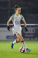 OHL's Marith Debondt (31) pictured during a female soccer game between  AA Gent Ladies and Oud Heverlee Leuven on the 9th matchday of the 2020 - 2021 season of Belgian Scooore Womens Super League , friday 11 th of December 2020  in Oostakker , Belgium . PHOTO SPORTPIX.BE | SPP | DIRK VUYLSTEKE