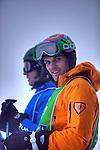 Challenge Mer et Montagne 2012, Saint Gervais les Bains, Mont Blanc, Haute Savoie, France..Ski Super Geant..Thierrry Dubois, Aurelien Ducros.