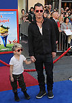 Gavin Rossdale and Kingston Rossdale at Touchstone Pictures' World Premiere of Gnomeo & Juliet held at The El Capitan Theatre in Hollywood, California on January 23,2011                                                                               © 2010 DVS/Hollywood Press Agency