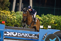 GBR-Emily Moffitt rides Winning Good during the Longines FEI Jumping Nations Cup™ Final - Challenge Cup. 2021 ESP-Longines FEI Jumping Nations Cup Final. Real Club de Polo, Barcelona. Spain. Saturday 2 October 2021. Copyright Photo: Libby Law Photography