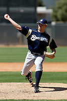 Kris Dabrowiecki - Milwaukee Brewers - 2009 spring training.Photo by:  Bill Mitchell/Four Seam Images