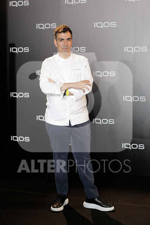 Ramon Freixa attends to IQOS3 presentation at Palacio de Cibeles in Madrid. February 10,2019. (ALTERPHOTOS/Alconada)
