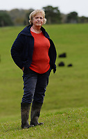 "BNPS.co.uk (01202 558833)<br /> Pic: ZacharyCulpin/BNPS<br /> <br /> New Forest Commoner, Annie Cooper.<br /> Annie Cooper, who runs Acres Down Fram in Minstead, said: ""I take horns off my cows for animal husbandry reasons but I don't see that we should be made to do it because of people.<br /> ""If you went in to the jungle you wouldn't go and remove the claws from tigers or the tusks from elephants.<br /> <br /> Hundreds of cows in the New Forest are having their horns removed following a worrying rise in cattle attacks on dog walkers.<br /> <br /> While many owners are agreeing to dehorn their livestock to reduce the risk of serious injury to the public, others object and compare it to 'going into the jungle to remove the claws from a tiger.'<br /> <br /> They blame a 'decline in sensible behaviour among forest users' for the increase in the attacks."