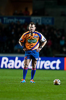 Friday 03 January 2014<br /> Pictured:Referee Nigel Owens<br /> Re: Ospreys v Scarlets, Rabo Direct Pro 12 match at the Liberty Stadium Swansea, Wales