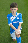 St Johnstone Academy Under 13's…2016-17<br />Mitchell Findlay<br />Picture by Graeme Hart.<br />Copyright Perthshire Picture Agency<br />Tel: 01738 623350  Mobile: 07990 594431