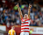 Mikael Antoine-Curier scores from the penalty spot to put Hamilton 3-0 up