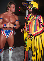 Randy Macho Man Savage Lex Luger 1993                                                               Photo By John Barrett/PHOTOlink