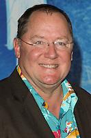 "HOLLYWOOD, CA - NOVEMBER 19: John Lasseter at the World Premiere Of Walt Disney Animation Studios' ""Frozen"" held at the El Capitan Theatre on November 19, 2013 in Hollywood, California. (Photo by David Acosta/Celebrity Monitor)"