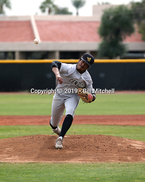 Jonathan Stroman - 2019 Central Arizona College Vaqueros (Bill Mitchell)