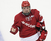 - The Boston College Eagles defeated the visiting University of Wisconsin Badgers 9-2 on Friday, October 18, 2013, at Kelley Rink in Conte Forum in Chestnut Hill, Massachusetts.