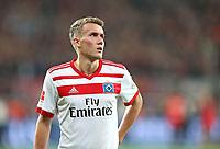 24.09.2017, Football 1. Bundesliga 2017/2018, 6.  match day, Bayer 04 Leverkusen - Hamburger SV, in BayArena Leverkusen. Gian-Luca Waldschmidt (Hamburg) enttaeuscht  *** Local Caption *** © pixathlon<br /> <br /> +++ NED + SUI out !!! +++<br /> Contact: +49-40-22 63 02 60 , info@pixathlon.de