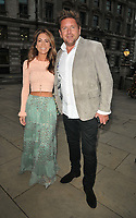 Louise Davies and James Martin at the Fortnum & Mason Food and Drink Awards 2021, Fortnum & Mason at the Royal Exchange, Royal Exchange, Cornhill, on Thursday 09th September 2021 in London, England, UK. <br /> CAP/CAN<br /> ©CAN/Capital Pictures