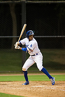 AZL Dodgers right fielder Kevin Aponte (11) at bat against the AZL Indians on July 20, 2017 at Camelback Ranch in Glendale, Arizona. AZL Dodgers defeated the AZL Indians 10-9. (Zachary Lucy/Four Seam Images)