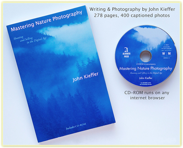 """Mastering Nature Photography."""" John's 3rd book: John has photographed just about every wild place in the western USA. In addition to photographic advice, John discusses how to safely travel in the mountains, desserts and canyons, and along the coast.<br /> John's degrees in zoology (BS) and entomology (MS) provides a unique perspective to his nature photography workshops and guided hikes."""
