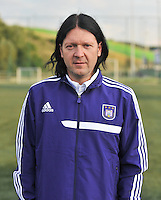RSC Anderlecht Dames : Filip De Winne<br /> foto David Catry / nikonpro.be