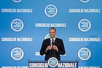 CONSIGLIO NAZIONALE DEL POPOLO DELLA LIBERTA ED ELEZIONE DEL NUOVO SEGRETARIO DEL PARTITO ANGELINO ALFANO...NELLA FOTO ANGELINO ALFANO ..ROMA 1 LUGLIO  2011..PHOTO SERENA CREMASCHI INSIDEFOTO..............................