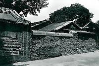 Altstadt (Hutong) in Peking, China 1980