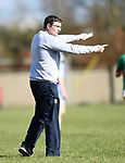 Scariff Community College coach/selector Jimmy Meagher on the sideline against St Fergal's College during their All-Ireland Colleges final at Toomevara. Photograph by John Kelly.
