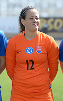20180307 - LARNACA , CYPRUS :  Slovakian Maria Korenciova pictured during a women's soccer game between  Slovakia and the Czech Republic , on Wednesday 7 March 2018 at the GSZ Stadium in Larnaca , Cyprus . This is the final game in a decision for 9 th or 10 th place of the Cyprus Womens Cup , a prestigious women soccer tournament as a preparation on the World Cup 2019 qualification duels. PHOTO SPORTPIX.BE   DAVID CATRY