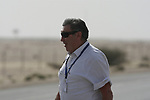 Race organiser Eddy Merckx at the start of Stage 3 of the 2012 Tour of Qatar running 146.5km from Dukhan Souq, Dukhan to Al Gharafa, Qatar. 7th February 2012.<br /> (Photo Eoin Clarke/Newsfile)
