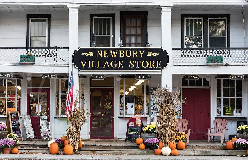 Charming village store, Newbury, Vermont, USA.