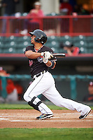 Erie SeaWolves second baseman Alberto Gonzalez (24) during a game against the Bowie Baysox on May 12, 2016 at Jerry Uht Park in Erie, Pennsylvania.  Bowie defeated Erie 6-5.  (Mike Janes/Four Seam Images)