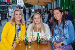 Rebecca O'Connor, Tara Murphy and Dawn Murphy Killarney enjoying a night our in the Flesk restaurant Killarney on Saturday evening
