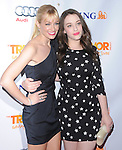 Kat Dennings and Beth Behrs at Trevor Live At The Hollywood Palladium in Hollywood, California on December 04,2011                                                                               © 2011 Hollywood Press Agency