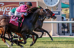 DEL MAR, CA  JULY 16: #8 Flashiest, ridden by Abel Cedillo, is declared the winner in a four horse photo finish in the Runhappy Oceanside Stakes with four in a line, on July 16, 2021 at Del Mar Thoroughbred Club in Del Mar, CA<br /> (Photo by Casey Phillips/Eclipse Sportswire/CSM)
