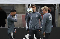 Mahmoud Dahoud (Deutschland Germany), Kai Havertz (Deutschland, Germany), Julian Brandt (Deutschland Germany) haben Spass <br /> - 05.10.2020: Training der Deutschen Nationalmannschaft, Suedstadion Koeln<br /> DISCLAIMER: DFB regulations prohibit any use of photographs as image sequences and/or quasi-video.