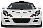 Straight front view of a 2009 Lotus Exige S 2 Door Coupe