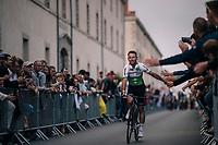 Mark Cavendish  (GBR/Dimension Data) at the Team presentation in La Roche-sur-Yon<br /> <br /> Le Grand Départ 2018<br /> 105th Tour de France 2018<br /> ©kramon