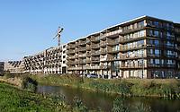 Nederland  Amsterdam-  2020.  Nieuwbouw op Zeeburgereiland.    Foto : ANP/ HH / Berlinda van Dam