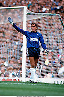 October 1986; RAY CLEMENCE, TOTTENHAM HOTSPUR Goalkeeper
