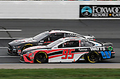 #14: Clint Bowyer, Stewart-Haas Racing, Haas Automation Ford Mustang, #95: Christopher Bell, Leavine Family Racing, Rheem/Watts Toyota Camry