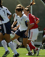 Julie Foudy, USA vs. Canada at the Third Place Match of the FIFA Women's World Cup USA 2003. USA 3, Canada, 1. (October 11, 2003). .