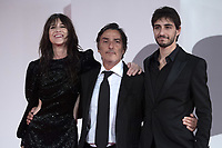 Charlotte Gainsbourg, Yvan Attal and Ben Attal attending the Les Choses Humaines Premiere as part of the 78th Venice International Film Festival in Venice, Italy on September 09, 2021. <br /> CAP/MPI/IS/PAC<br /> ©PAP/IS/MPI/Capital Pictures