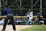 #5 Hiruta Natsuki of Japan bats during the BFA Women's Baseball Asian Cup match between Japan and Hong Kong at Sai Tso Wan Recreation Ground on September 5, 2017 in Hong Kong. Photo by Marcio Rodrigo Machado / Power Sport Images